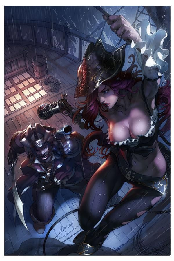 Misfortune and Gangplank, have to say i like mis better then gang.