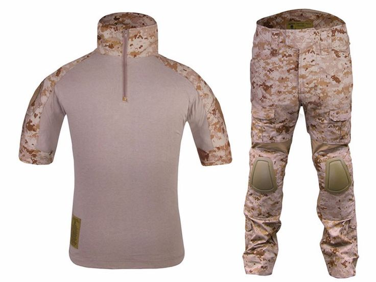 Summer Camouflage Uniforms Tactical Army Combat Uniforms