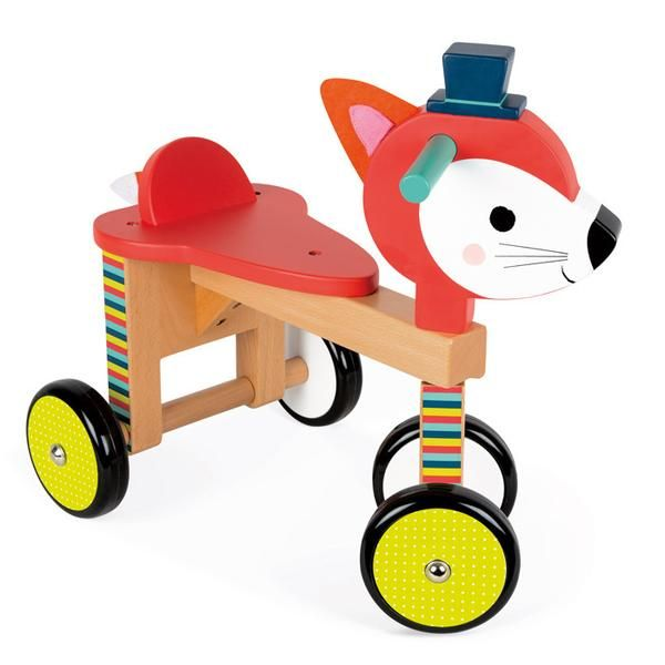 Fox Toddler Ride-On Toy (Janod)