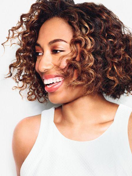 25 trending highlights curly hair ideas on pinterest curly makeover alert glamour gives natasha kaye a fabulous new do chestnut highlightshighlights on dark haircopper highlightscaramel highlightsdark curly pmusecretfo Gallery