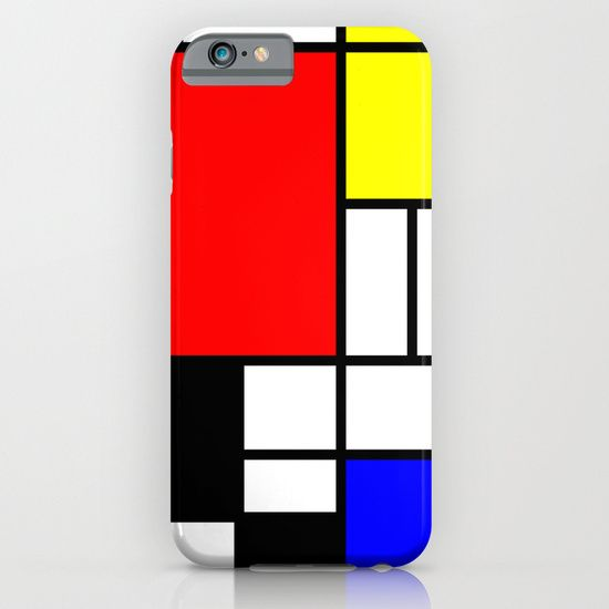 Mondrian iPhone & iPod Case