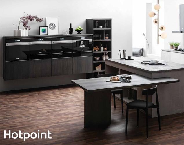 Scopri i forni Class 9 di Hotpoint, ideali nelle Cucine Lube. #Lube #arredamento #design #CucineLubeTorino