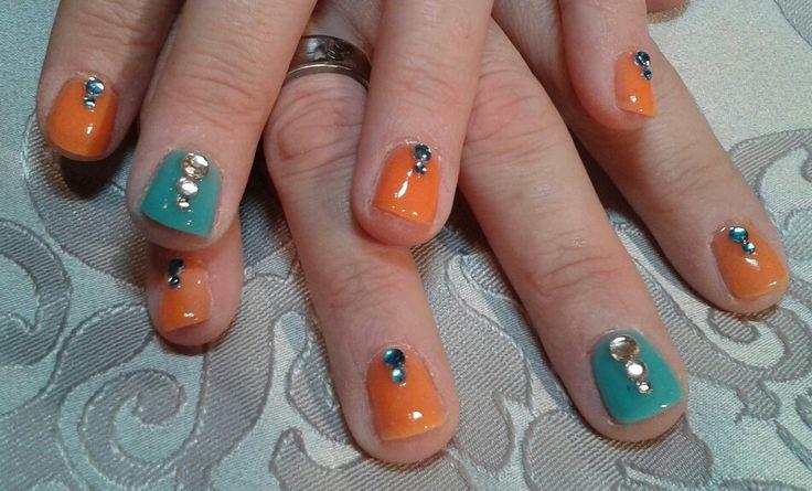 Summer 2015. Brijoux nail art