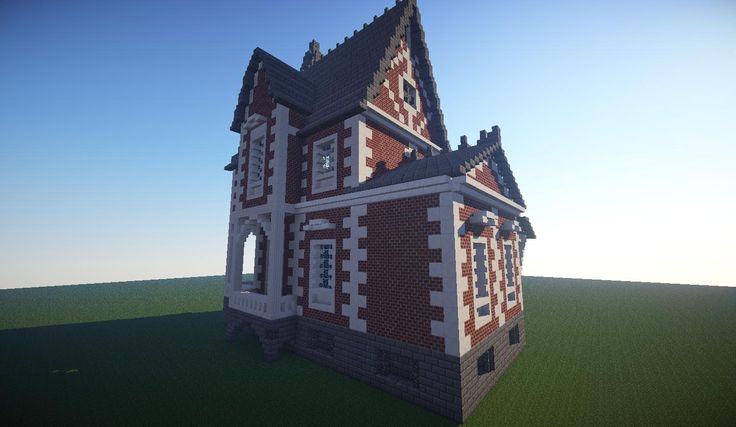 The Old Ladies House | Brick | Minecraft House Design
