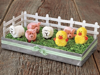 I think my kids would love seeing this on the table Easter morning!! And then eating them!!!