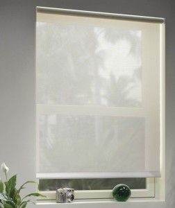 #Solar #shades are high-tech roller shades, made using a solar screen fabric. Solar screen fabric is made of an open weave mesh material available in a wide variety of colors, patterns and weaves. It's a great energy efficient #window treatment for your home.
