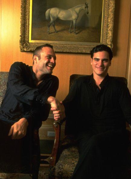 Vince Vaughn and Joaquin Phoenix