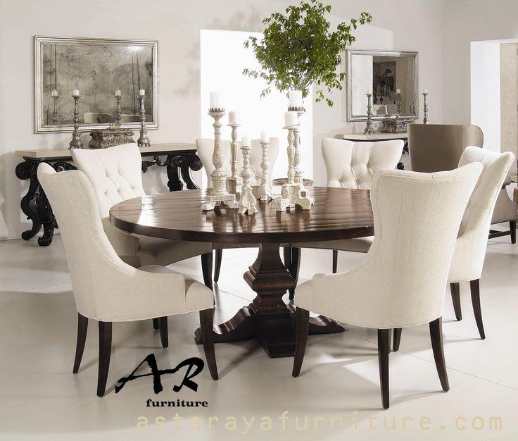 Set Meja Makan Modern Furniture