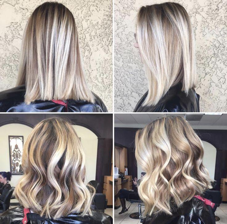 Autumn Blonde - reverse balayage