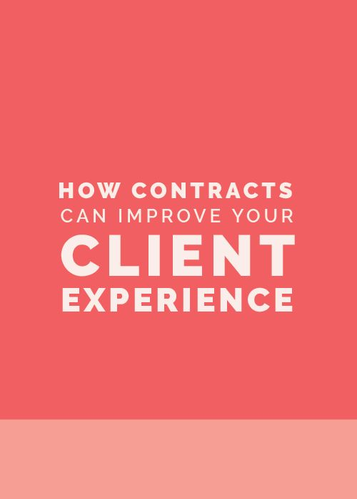 How Contracts Can Improve Your Client Experience with Christina Scalera << Elle and Company Design