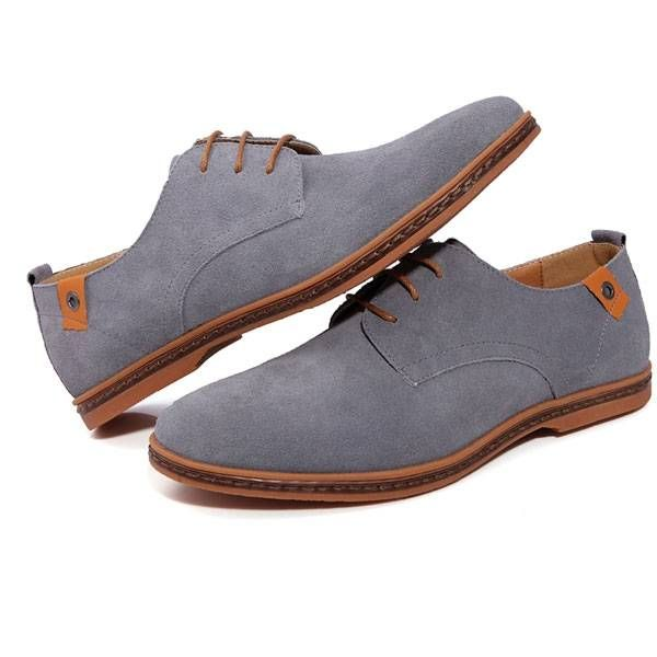 Men's Busness Tide Leather Classic Casual Oxford Shoes