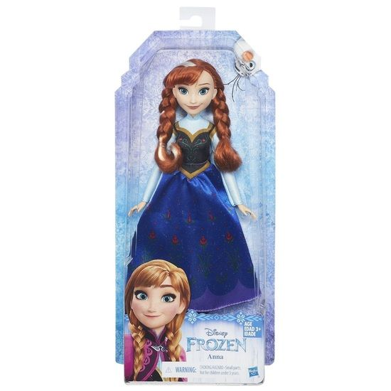 BOUGHT BY AUNTIE TANIA Disney Frozen Classic Anna Doll