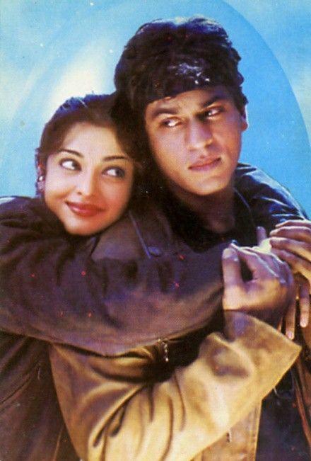 Aishwarya Rai and Shahrukh Khan in Josh