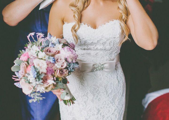 My White Rose Lace Wedding Dress R704