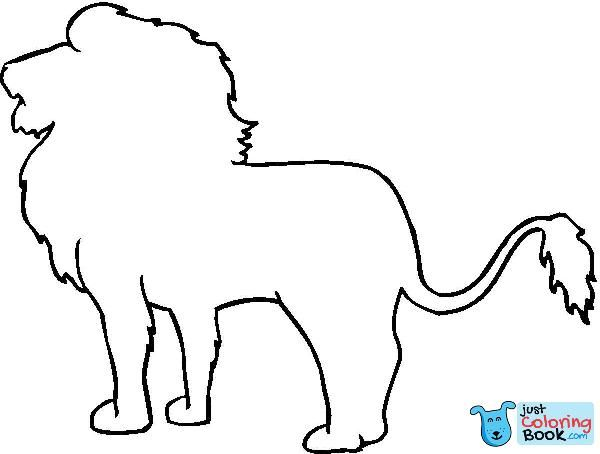 Animal Outline Drawings Lion Outline Coloring Online Regarding Sitting Lion Outline Coloring Pages Downl Animal Outline Outline Drawings Easy Animal Drawings Be happy cute lion cartoon vector. pinterest
