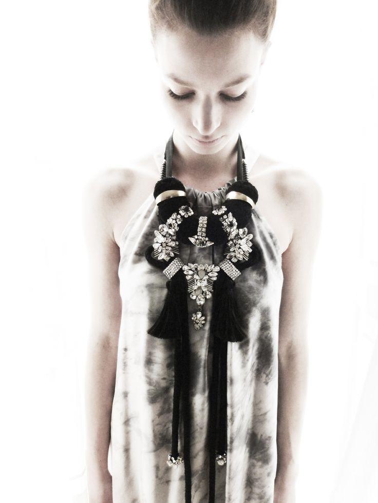 Rienne Creations statement jewelry Zavora Collection 2013
