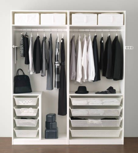 54 best images about idee dressing on pinterest ikea wardrobe dressing and ikea. Black Bedroom Furniture Sets. Home Design Ideas