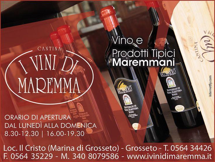 Cantina I vini di Maremma S.a.c. - Loc. il Cristo Marina di Grosseto - Maremma - Toscana - Italia