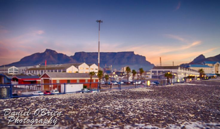 View of Table Mountain from The Waterfront