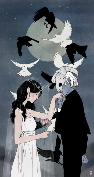 angel and devil forbidden union