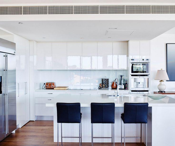 89 Best White On White Modern Kitchen Ideas Images On Pinterest Prepossessing Kitchen Models 2018