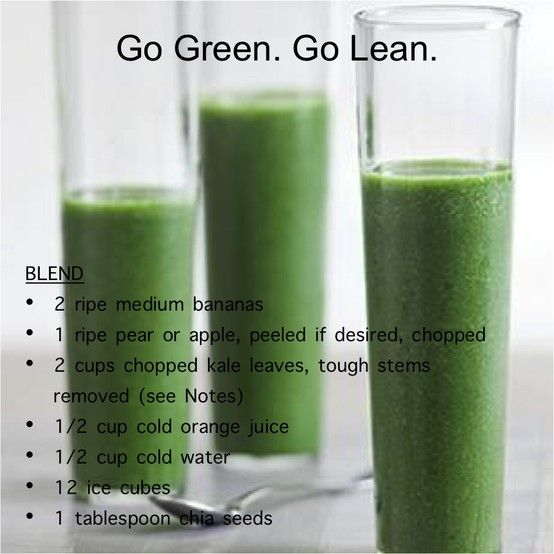 100 Days of Smoothies: 1/100 Green Lean Machine