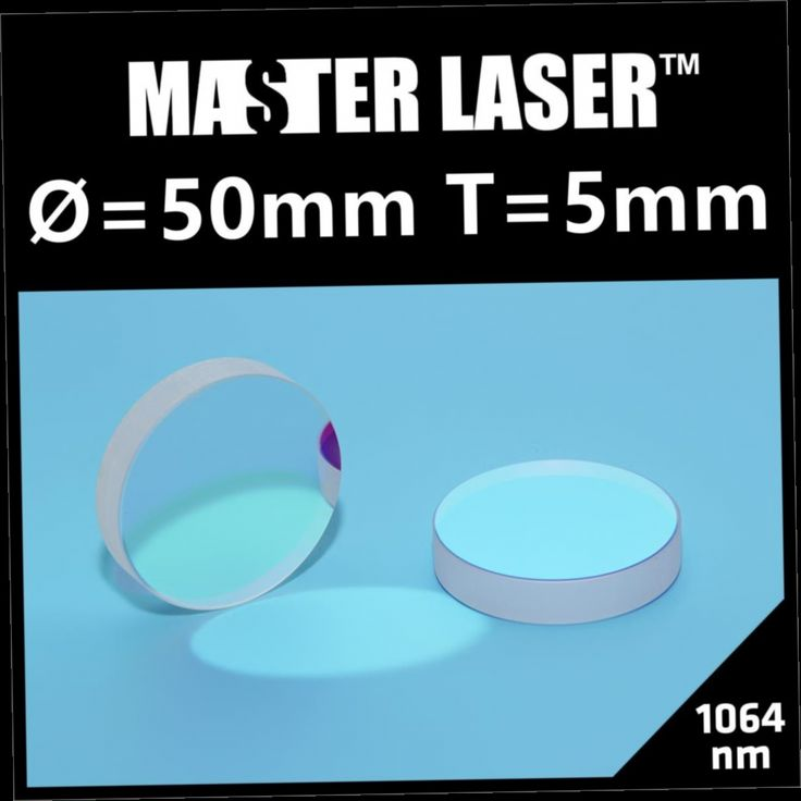 49.00$  Buy here - http://alisc5.worldwells.pw/go.php?t=32572370587 - Dia 50mm Thickness 5mm 1064nm YAG Laser Cutting Machine 45 Degree Reflect Mirror  Reflector Mirror 49.00$