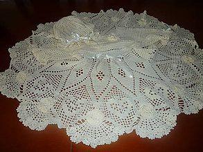 Detské oblečenie - háčkované šaty - 5460780_