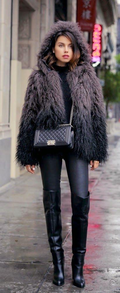 Cozy Oversized Faux Furry Jacket