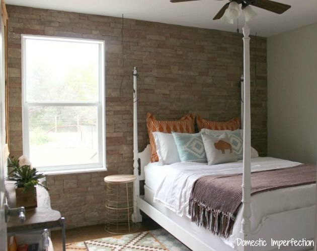 17 best ideas about interior stone walls on pinterest - Faux stacked stone interior walls ...