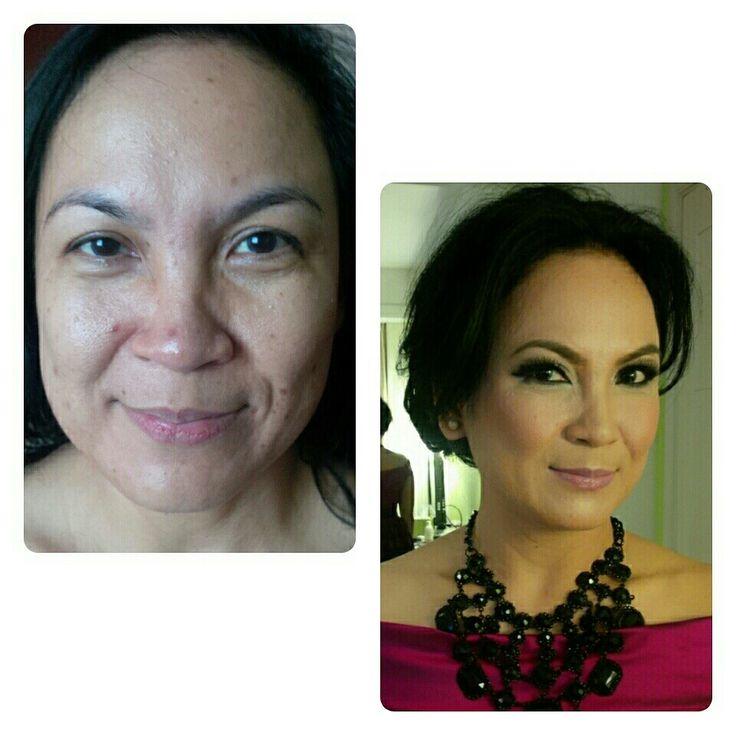 Make up for medium age lady