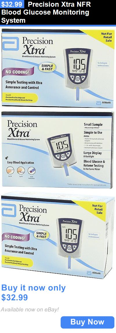 Glucose Monitors: Precision Xtra Nfr Blood Glucose Monitoring System BUY IT NOW ONLY: $32.99