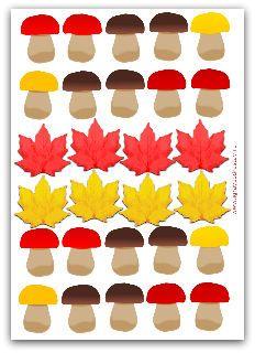 Осень с детьми от 1,5 до 2 лет - развивающие игры и идеи для занятия.