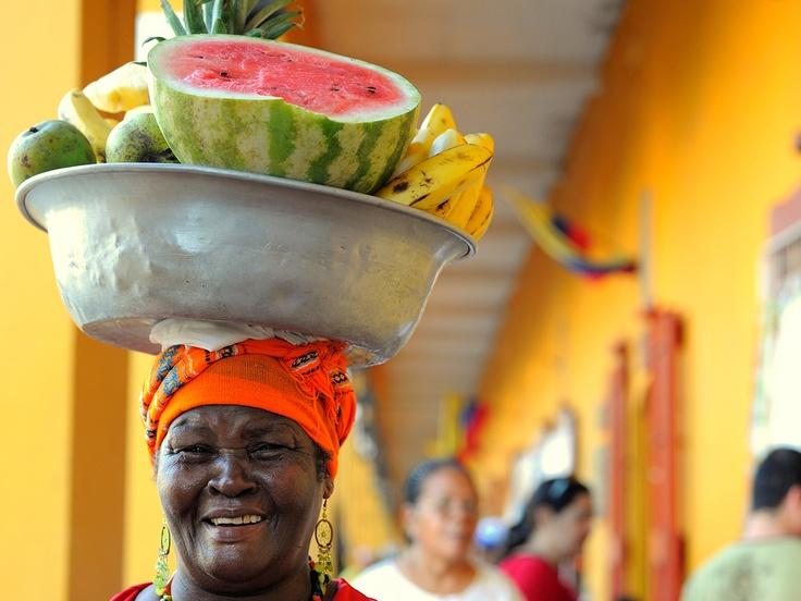"""Cartagena de Indias, Colombia """"Palenquera"""" by Paulo Capiotti"""