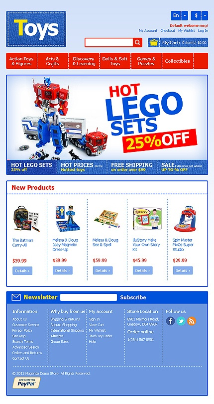 Toy Store Magento Theme  #lego #website http://www.templatemonster.com/magento-themes/42901.html?utm_source=pinterest&utm_medium=timeline&utm_campaign=toys