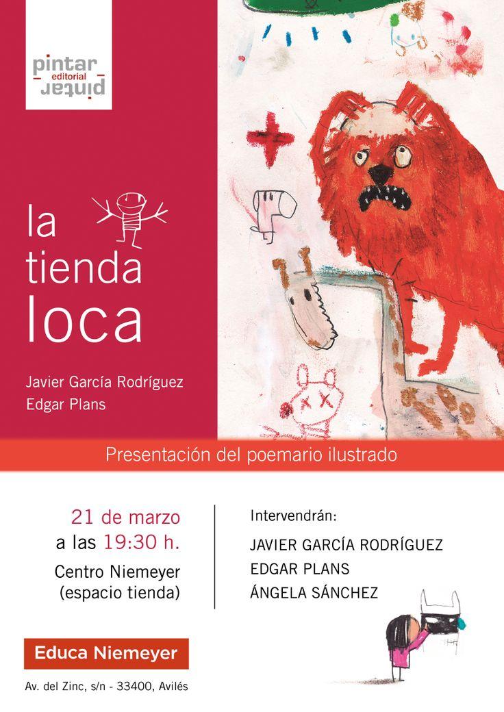 """Presentación del álbum de poesía ilustrada """"La tienda loca"""""""
