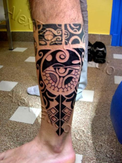 Irish tattoos tatouage tribal polynesien photos et for Irish canadian tattoos