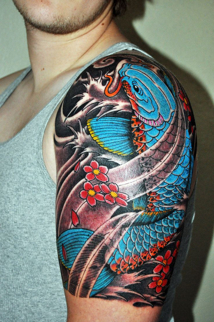 Half Sleeve Tattoo Ideas Half Sleeve Tattoo Ideas Are A Great Compromise For Many People Who
