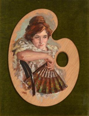 M s de 1000 ideas sobre paleta pintor en pinterest - Paleta de pinturas ...