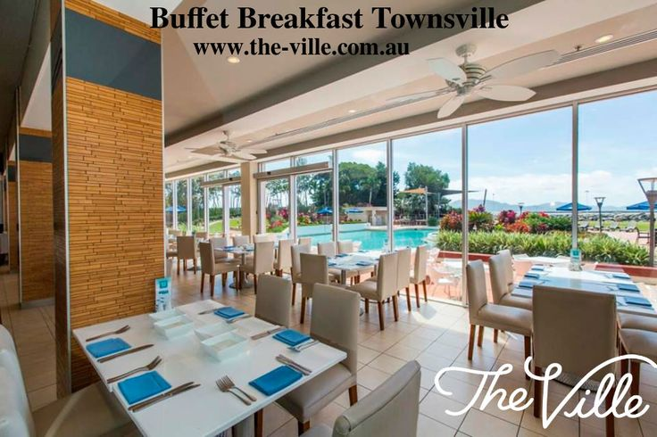 Buffet Breakfast Townsville - Dine at the perfect setting at The Ville aqua restaurant. Aqua Restaurant serves seafood cuisine for seafood lovers including special dishes like fresh seafood, soups, hearty roast meats. Visit now!