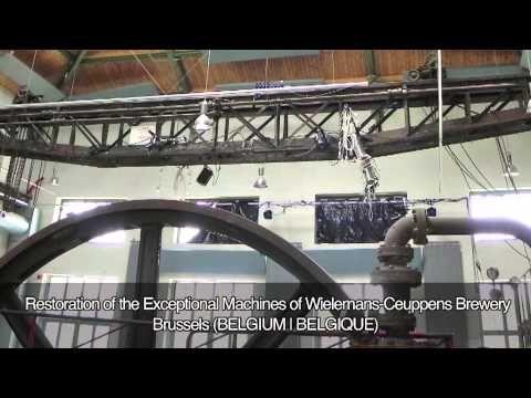 VIDEÓ: Az Europa Nostra 2013 egyik nagydíjazottja a Wielemans-Ceuppens sörfőzde rendkívüli berendezéseinek helyreállítása, Brüsszel, Belgium.