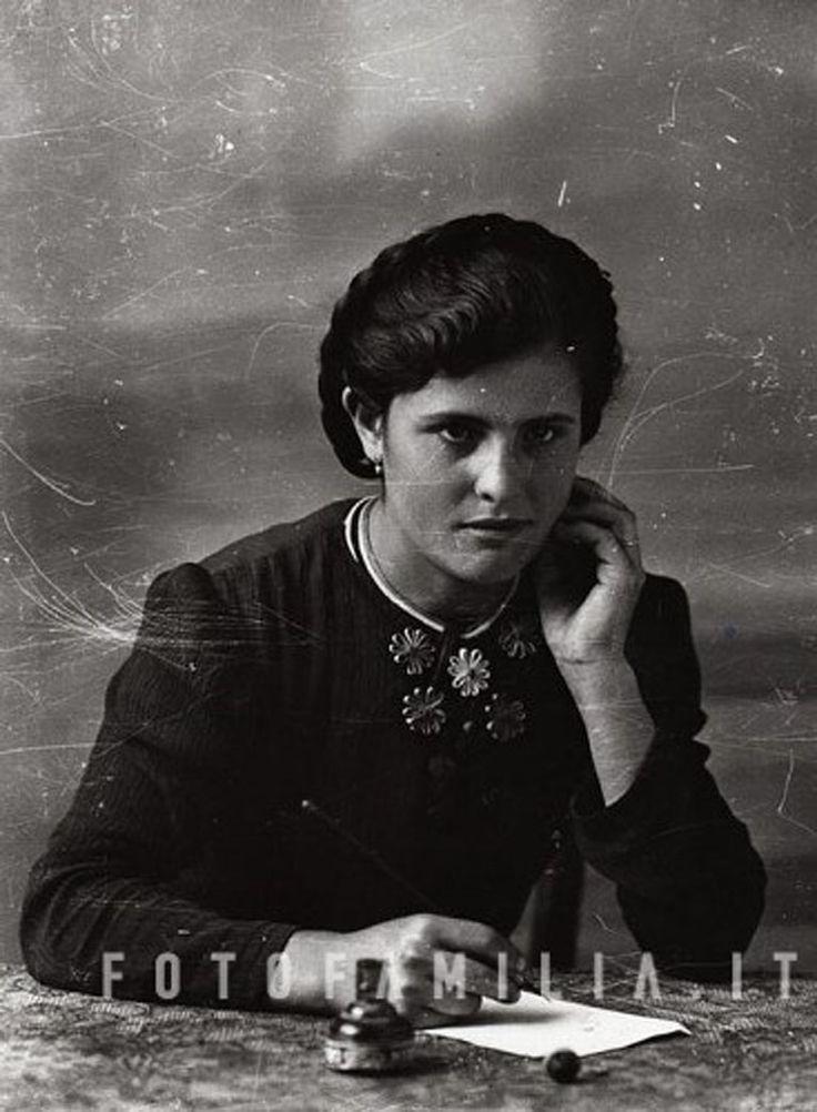 ritratto di signora anni '50