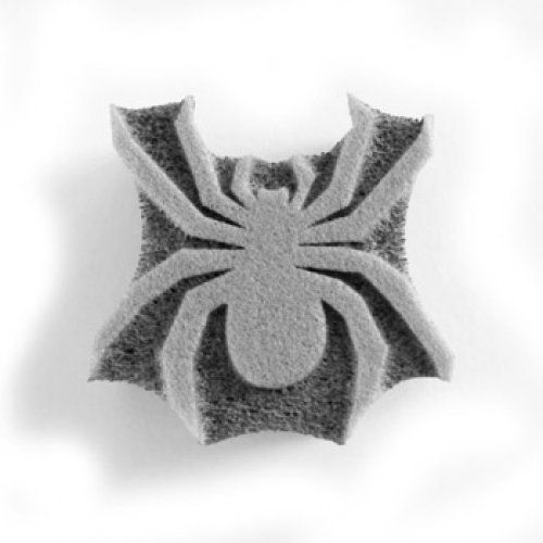 "Spider Face Paint Stamp by Snazaroo. $4.71. Snazaroo spider face paint stamp. Stamp measures 1"" to 1.5"" at the widest or tallest point. No artistic ability required. Made from durable foam. The Snazaroo Spider Face Paint Stamp is perfect for creating simple cheek art designs or hand stamps. All you have do is load the face paint on to the face paint stamp and apply to the skin. Simple. Snazaroo EVA Face Paint Stamps are made of durable foam for easy cleaning and multip..."