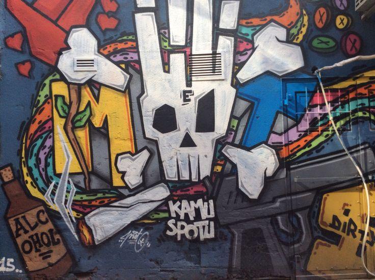 Kamu Spotu. Graffiti in İstanbul ..