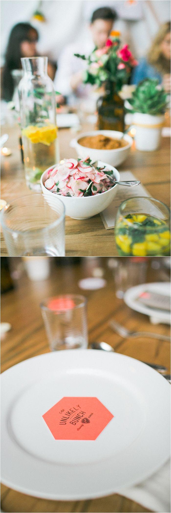 radish salad, an unlikely brunch