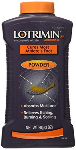 Cures most athlete's foot (tinea pedis), jock itch (tinea cruris) and ringworm (tinea corporis).Relieves itching, cracking, burning and scaling.  http://darrenblogs.com/us/2018/02/16/lotrimin-af-athletes-foot-powder-90gram-3-oz/