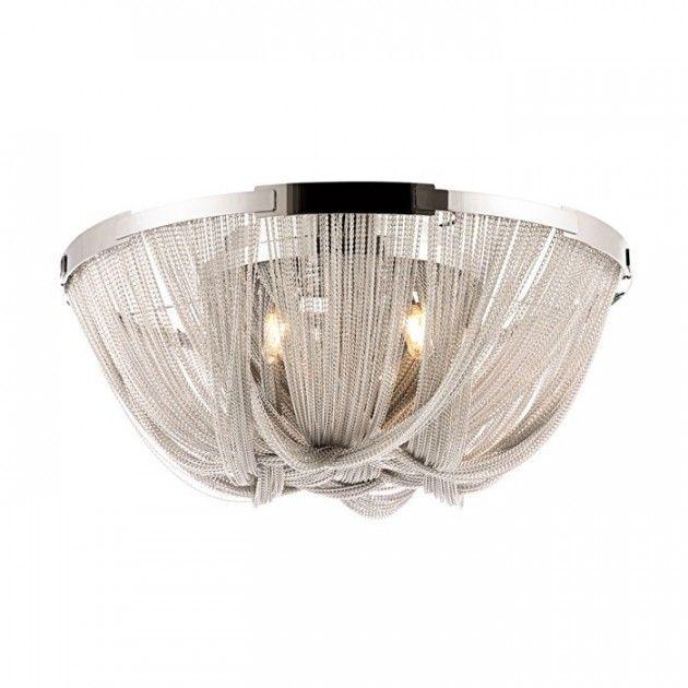 Moderne taklampe. Plafond #moderne #taklampe #plafond #modernelamper #lamper #kjetting #design #interiør #lunelamper