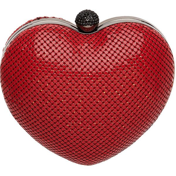 Mimco Mayhem Heart Case ($155) ❤ liked on Polyvore