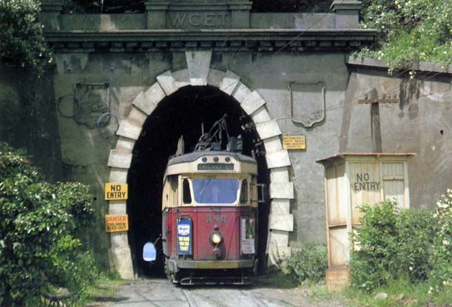 Wellington tram tunnel now the bus tunnel