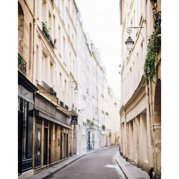 Parigi fotografia, fotografia di strada di Parigi, Parigi Decor,... ($29) ❤ liked on Polyvore featuring home, home decor, paris home decor and parisian home decor